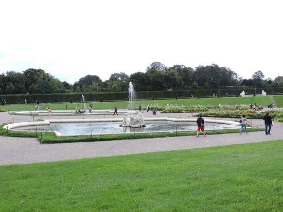 Schloss Belvedere: fontana belvedere