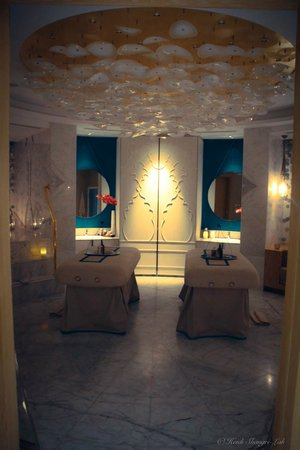 Waldorf Astoria Ras Al Khaimah : massage rooms