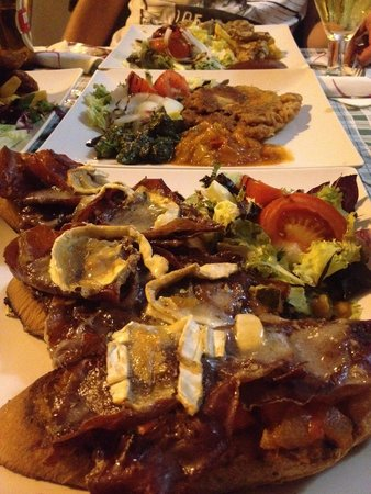 Brighton Bar Oviedo: Impresionante la cena. Buen precio, rico, sitio agradable RECOMENDABLE 100%. Volveremos sin dud