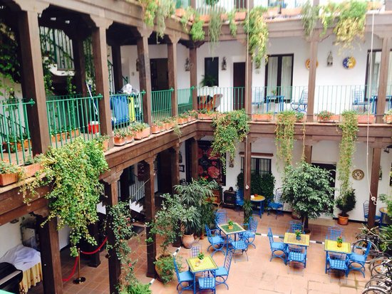El Rey Moro Hotel Boutique Sevilla : View from our room