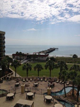 DoubleTree Resort by Hilton Myrtle Beach Oceanfront : Good Morning Myrtle Beach