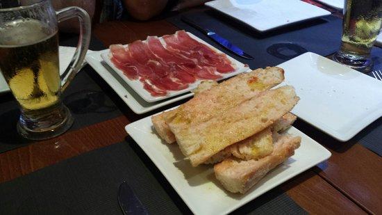 A Taberna do Bispo: Tapa de jamon iberico