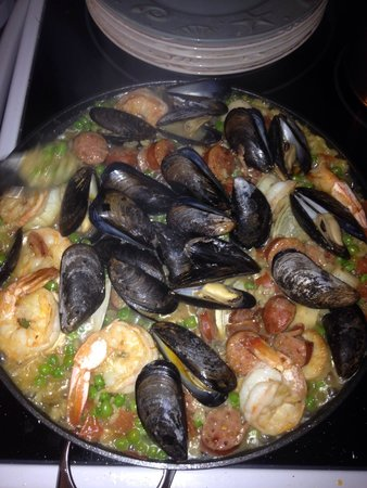 Falmouth Fish Market Inc.: Paella -- fresh seafood from Falmouth Fish Market