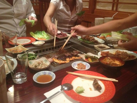 Bbq do it yourself make sure to book this table picture of shogun shogun bbq do it yourself make sure to book this table solutioingenieria Image collections