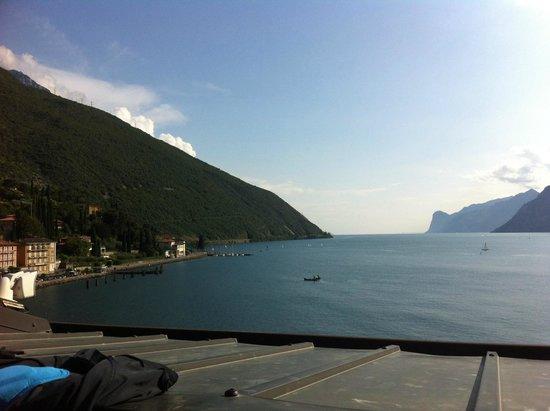 Hotel Lago di Garda: Ausblick