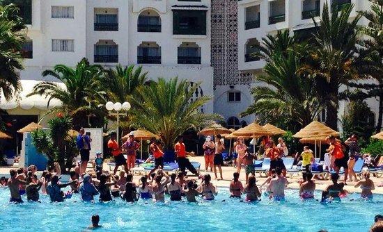 Marhaba Palace Hotel: zumba!