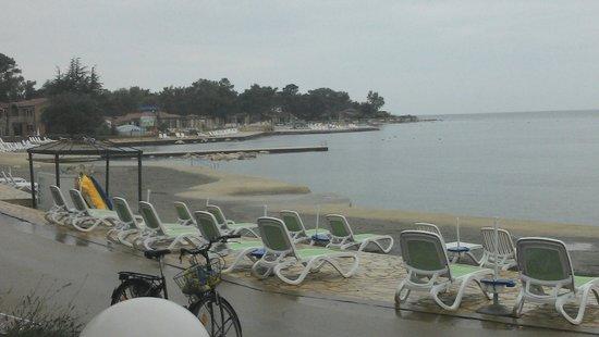 Sol Stella Apartments: Veduta spiaggia