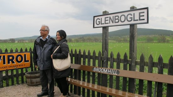 "Strathspey Steam Railway: Broomhill ""Glenbogle"" Station is a ""Monarch"" fan favorite"