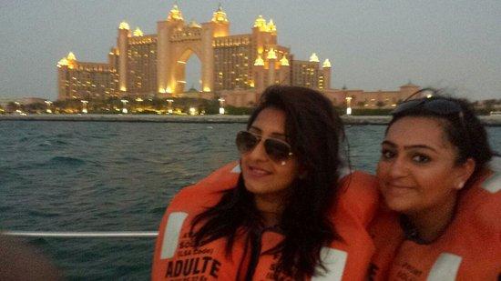 Sofitel Dubai Jumeirah Beach: A boat ride organised by Sofitel hotel