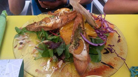 Le Pré Vert : salade marguerite