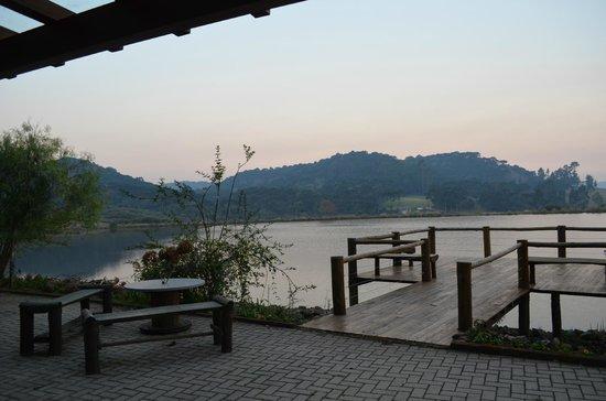 Lago Pier Picture Of Cambara Eco Hotel Cambara Do Sul Tripadvisor