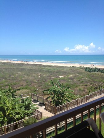 La Quinta Inn & Suites South Padre Island Beach: Balcony view