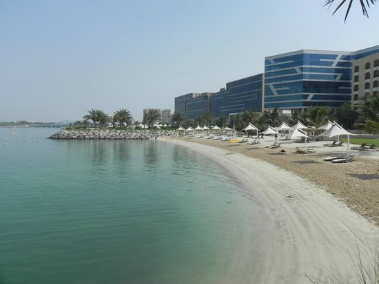 Beach - Picture of Traders Hotel, Qaryat Al Beri, Abu