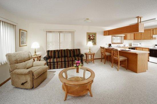 Branson's Best: Jacuzzi Suite Living Room