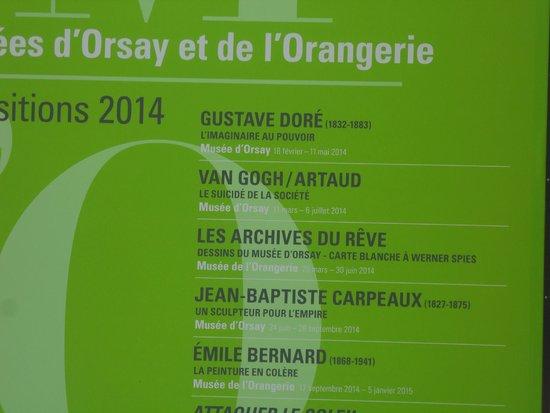 Musée d'Orsay: DA VEDERE