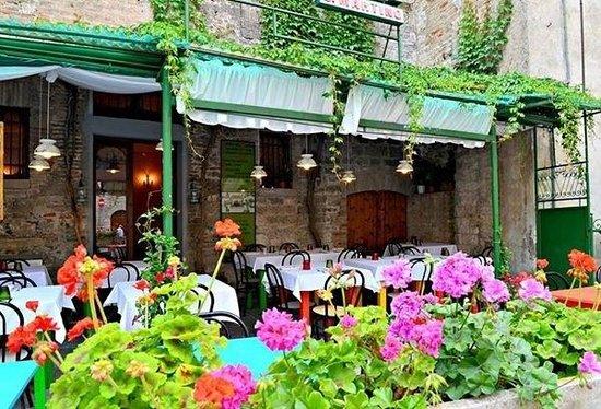 San Martino: Veranda esterna
