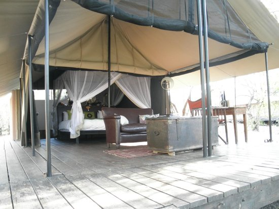 Honeyguide Tented Safari Camps: Our comfy tent