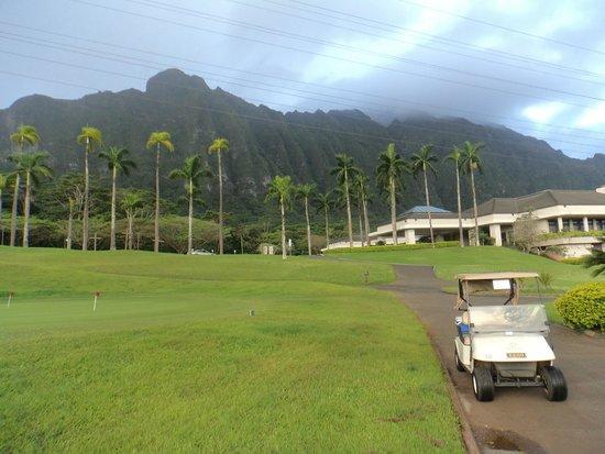Ko'olau Golf Club: mountains