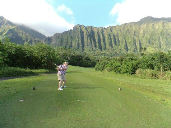 Ko'olau Golf Club: tshot