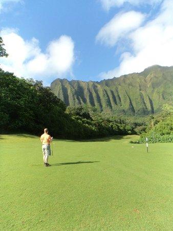 Ko'olau Golf Club: middle of the favirway