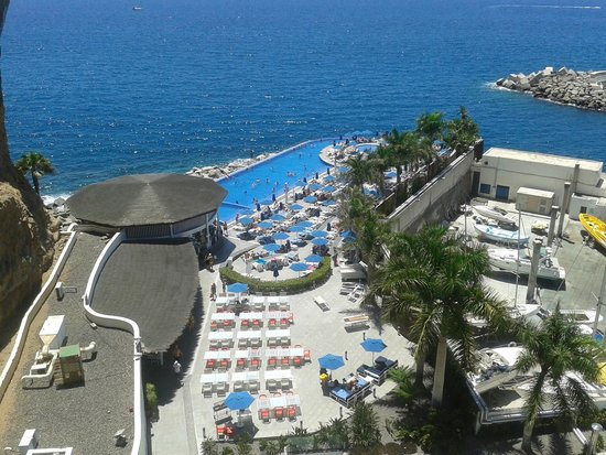 Marina Suites : View from 902, Select Suite. Great view of both the pool and harbour. The complex is extremely c
