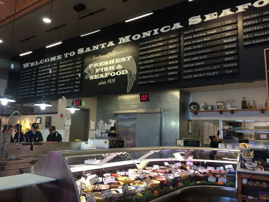 Crab louie picture of santa monica seafood santa for Santa monica fish company