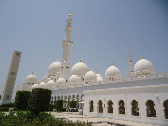 Scheich-Zayid-Moschee: Amazing exterior design