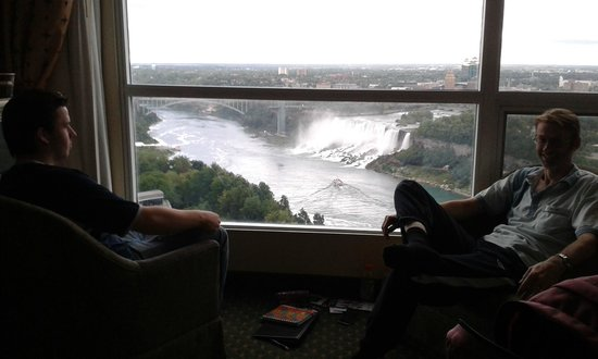 Best View Of Whole Falls Canadian Slightly More To Right