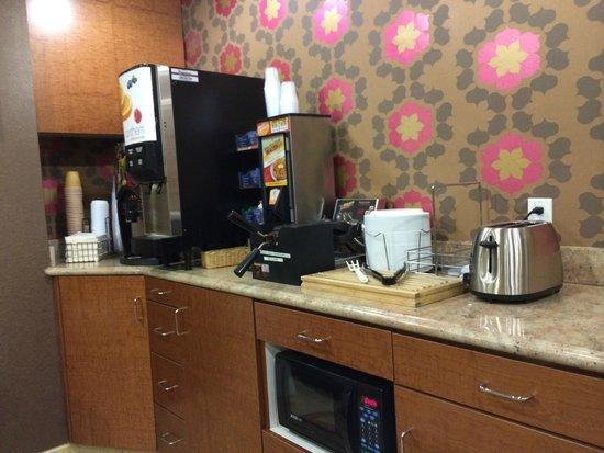 Hotel San Carlos - San Carlos: breakfast nook