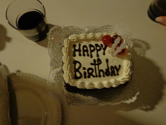 Hotel Baia Azul: b. cake from hotel