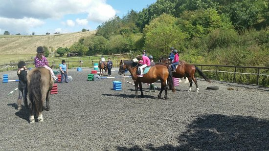 Center Parcs Longleat Forest: Horse riding