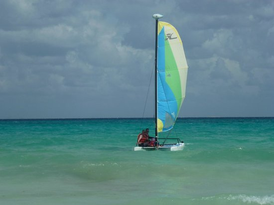 Hotel Riu Playacar: I AM SAILING