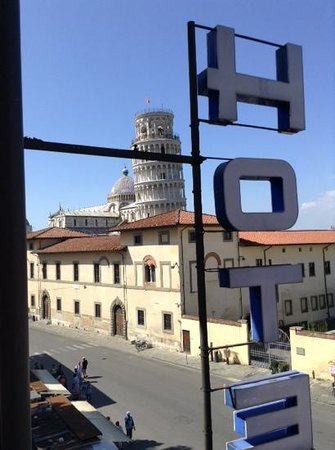 Hotel Villa Kinzica: view from room 67
