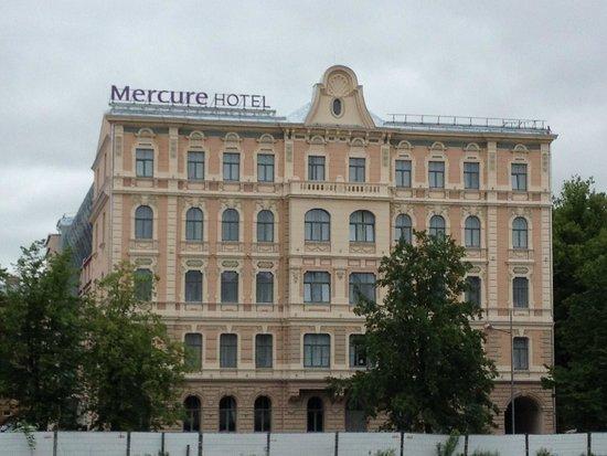 Mercure Riga Centre : vue latérale