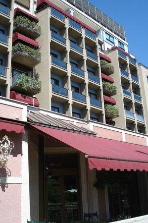 Parco dei Principi Grand Hotel & SPA : Fachada do hotel