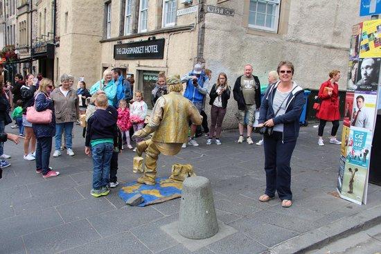 Grassmarket Hotel: Edinburgh Festival Fringe on the doorstep!