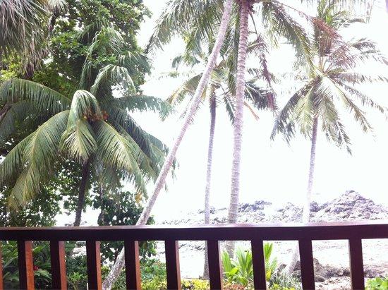 Cabinas Mar y Cielo: Der Ausblick von unserem Balkon