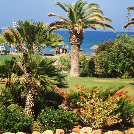 Lyttos Beach Hotel: The view from our nice room