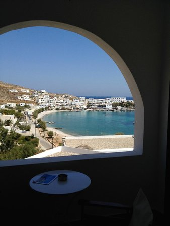 Vrahos Boutique Hotel: View from the rooms