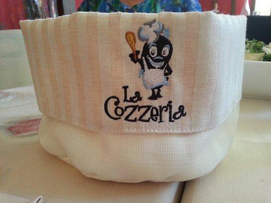 Cozzeria Alle Mura: Cestino del pane! :)