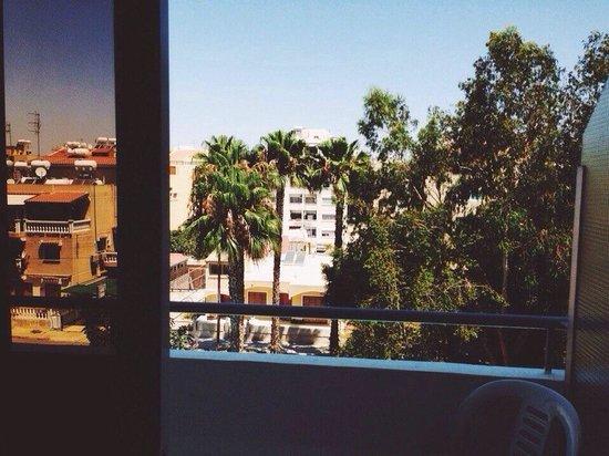 San Remo Hotel: Вид из нашего номера
