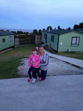 Seaview Holiday Village: View from caravans