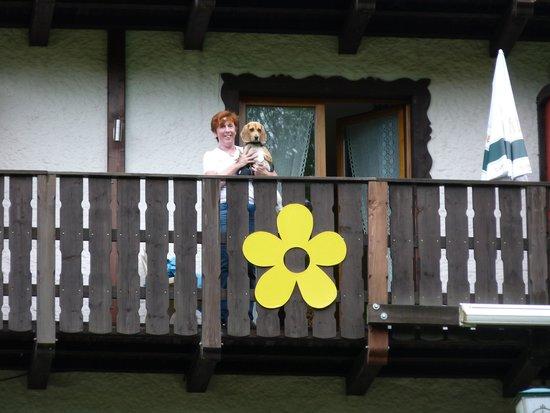 Wolffhotel : Balkon mit tollem Blick