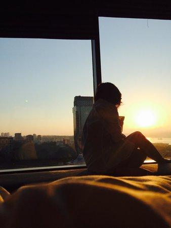 Gezi Hotel Bosphorus: Morning View #istanbul