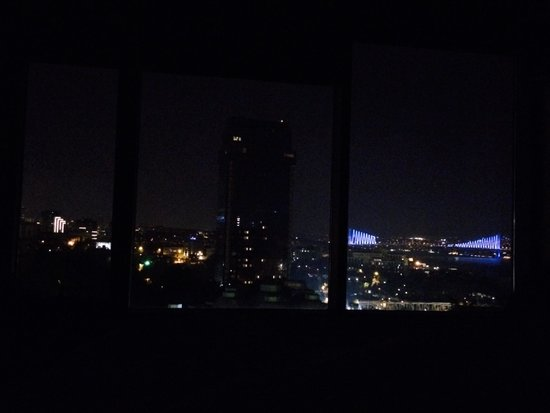 Gezi Hotel Bosphorus: Night View #istanbul