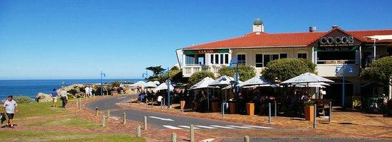 LB Seafood Bistro on the Bay: Lemon Butta Hermanus on the corner front