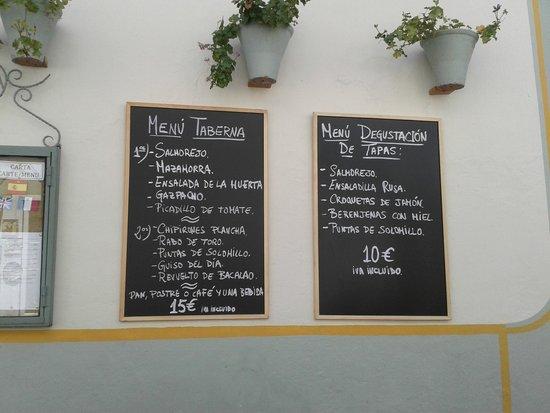 Casa Rubio : tapas y menu