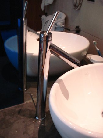 Hilton Manchester Deansgate: The offending tap.