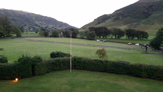New Dungeon Ghyll Hotel: View from the top floor room
