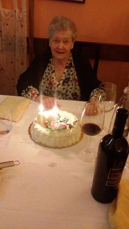 Arrosteria dell'Itria di Gabriella: Torta di Compleanno